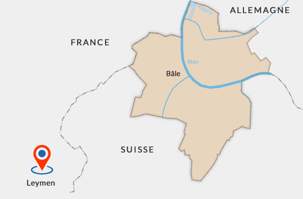 3-frontieres / france suisse allemagne