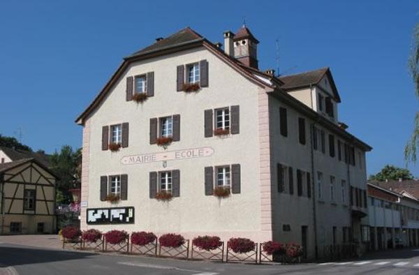 Mairie-ecole de Leymen + bureau de Poste